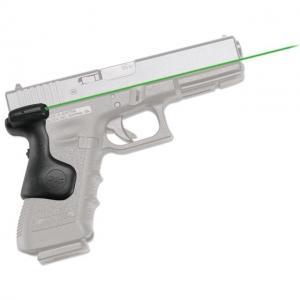 Crimson Trace For Glock Gen 3 Green Laser Grip, Black, Full-sized Guns LG-637G LG637G