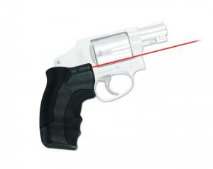 Crimson Trace Smith and Wesson J-Frame Revolver Round Butt Lasergrip Red Laser Sight LG-350 LG350