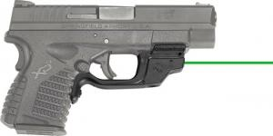 Crimson Trace LaserGuard Green Laser Sight for Springfield XD-S, 3.3/4.0, LG-469G LG469G