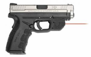 Crimson Trace Red Laser for Springfield Armory XD MOD.2, Black LG-496 LG496