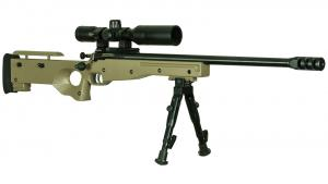 Crickett Precision Rifle FDE 22LR 16.1-inch 1rd KSA2152