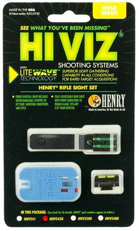 Hiviz HHVS450 LiteWave Henry Frontier Fiber Optic Green Black HHVS450