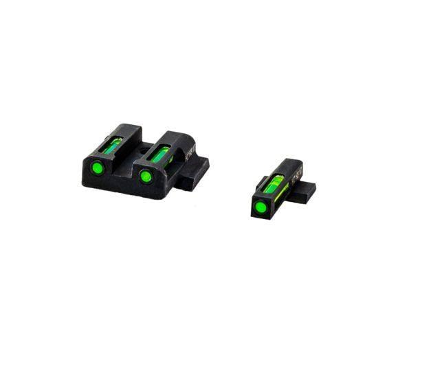 HiViz Litewave H3 Tritium/Litepipe Sight Set, S&W M&P, MPN321 MPN321