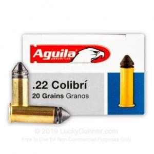 22 LR - 20 gr LRN - Super Colibri - Aguila - 50 Rounds 1B222337