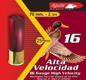 "Aguila 1CHB1602 Hunting 16 Gauge 2.75"" Shotshell Buckshot Loads 640420002415"