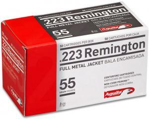 Aguila Ammunition .223Rem 55GR FMJ 50Rds 1E223110