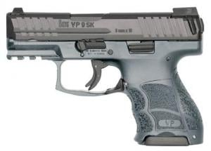 Heckler & Koch VP9SK Sub Compact 9mm 3.4in 10rd Grey Night Sights 81000100 642230257191