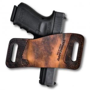 Versacarry Rapid Slide S1 OWB Ambidextrous Holster, Distressed Brown, Full Size, WBAOWB21 WBAOWB21