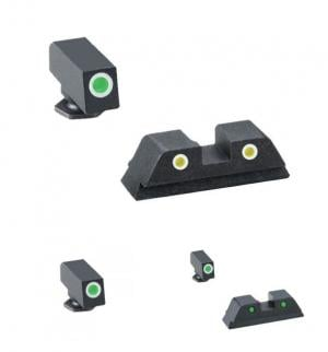 Ameriglo Tritium Night Sight, Green Front,Green Rear for Springfield XD, XD-M - XD191 XD191