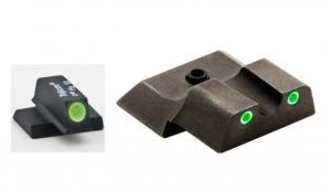 AmeriGlo Tritium Front and Rear Sights MP Shield 3 Dot night Sight set GRN,GRN SW-145 SW145