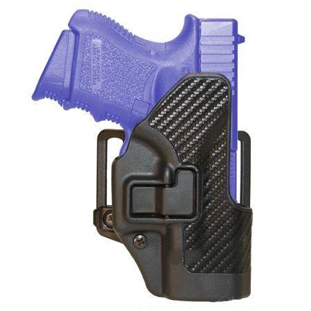 BlackHawk CQC SERPA Holster - Carbon Fiber Black, For Glock 20/21/S&W MP 410013BK-R 410013BKR