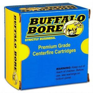 Buffalo Bore Ammunition Jacketed Hollow Point 180 Grain Brass .44 SPC 20Rds 14A/20
