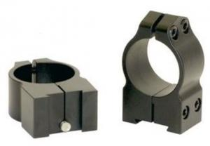 Warne Maxima Steel Rings, 1in, Tikka Grooved Receiver, PA, Medium - Matte 1TM 1TM