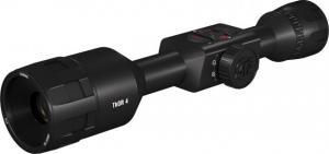 ATN ThOR 4, 384x288 Sensor, 2-8x Thermal Smart HD Rifle Scope w/WiFi, GPS, Black, TIWST4382A TIWST4382A