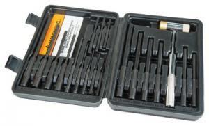 Wheeler Engineering Master Roll Pin Punch Set 18 Piece 110128
