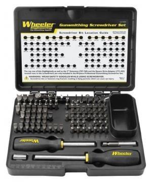Wheeler 89 Piece Deluxe Gunsmithing Screwdriver Kit 562194 562194