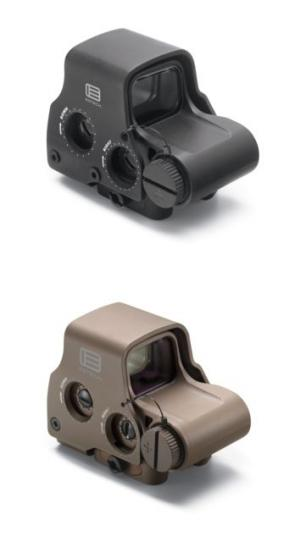 EOTech Transverse EXPS3 Red Dot Sight, Black w/ 2-Dot Reticle EXPS3-2 672294600343