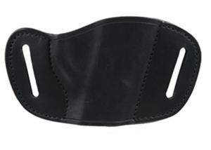 Bulldog Holster Leather Belt SLID MD Black MLB-M