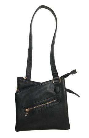 Bulldog Cases Cross Body Series Concealed Carry Purse Black BDP030
