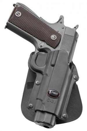 Fobus Standard Paddle Holster for 1911 without Rail Right Hand C21