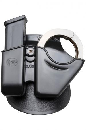 Fobus Cuff/Mag Combo Pouch with Paddle for Glock 9/40 and H&K USP 9/40 CU9G
