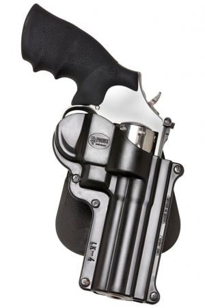 Fobus Standard Paddle Holster for 4-inch S&W K and L Frame Revolvers Right Hand SW4