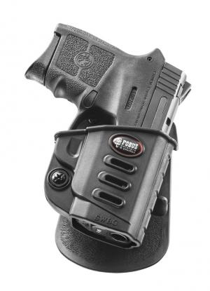 Fobus Evolution Paddle Holster for S&W M&P Bodyguard .380 with Integrated Laser Right Hand SWBG