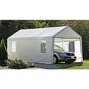 677599257728 Shelterlogic Max Ap 10 X 20 Canopy Enclosure Kit White Canopy Car Ports At Academy Sports 25772 Gun Deals