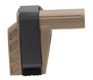 SB Tactical SBXK-02-SB AR Brace SBXK Elasto-Polymer FDE 6.2 L x 1.5 SBXK-02-SB
