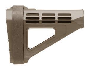 SB Tactical SBM4 Pistol Stabilizing Brace Flat Dark Earth SBM4-02