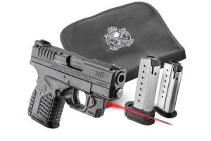 Springfield Armory XDS-45 3.3in Black w/ Viridian Laser XDS93345BENV18 XDS93345BENV18