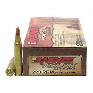 Barnes Bullets 21520 223 55 TSX 20rds 21520