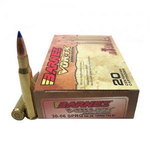 Barnes Bullets Vor-Tx Rifle Ammunition Brass .30-06 21565