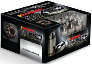 Barnes Bullets TAC-XPD .380 ACP 80GR HP 20Rds BPD380A1
