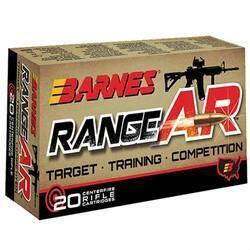 Barnes Bullets Range AR .300 AAC Blackout 90GR OFTB 20Rds 716876150878