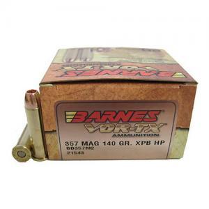 Barnes Bullets VOR-TX 357MAG 140GR XPB 20rds BB357M2
