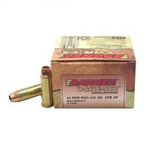 Barnes Bullets VOR-TX 44mag 225GR XPB 20rds BB44MAG4