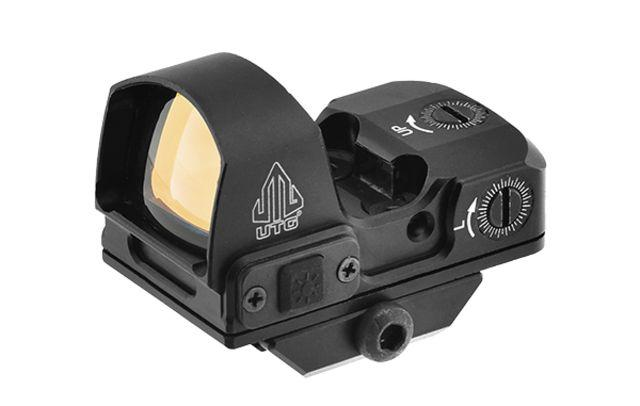 Leapers UTG Red 4 MOA Micro Dot Reflex Sight w/Adaptive Base, Black, SCP-RDM20R 717385553675