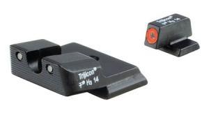 Trijicon Heavy Duty Night Sight Set, Orange Front Outline, S&W M&P Shield, 600722 600722