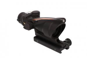 Trijicon ACOG 4x32 Scope, Dual Illuminated Red Chevron ACSS AURORA Reticle, Colt Knob Thumbscrew Mount, Black, TA31-R-AURORA 719307312869