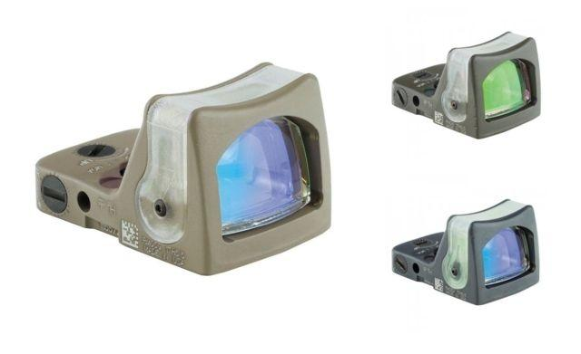 Trijicon RMR Reflex Sight, Dual Illuminated Sight -7.0 MOA, Amber Dot-CK Sniper, 700163 719307610651