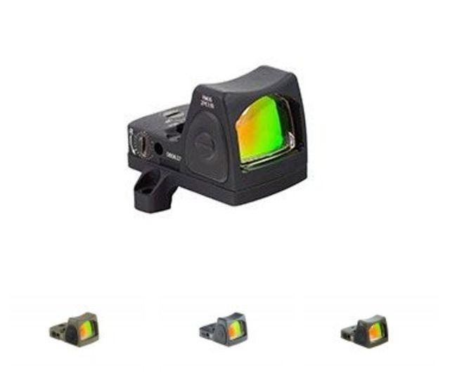 Trijicon RMR Type 2 Adjustable LED 3.25 MOA Red Dot Sight, Black, 3.25MOA, 700672 RM06C700672