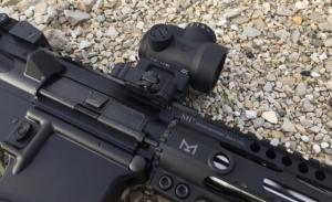 Trijicon MRO 1x25mm Adjustable Red Dot Sight, 2MOA Dot Reticle, Black, MRO-C-2200003 2200003