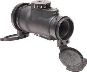 Trijicon 1x25 MRO Patrol 2 MOA Adjustable Red Dot Sight, No Mount, Black, 2200017 MROC2200017