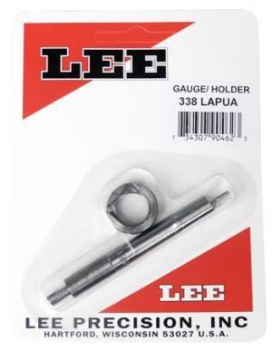Lee 90462 338 Lapua Case Length Gauge w/Shell Holder 1 338 Lapua .338 734307904623
