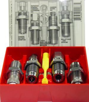 Lee 90963 Deluxe Pistol 4-Die Set 9mm Luger 90963