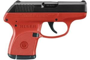 RUGER LCP 380 Auto Red Titanium Carry Conceal Pistol 3771