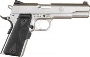 Ruger SR1911 Stainless Steel .45ACP 5-inch 8Rd Crimson Trace Laser Grips 6724