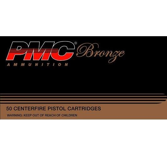 PMC Bronze .40S&W 165GR FMJ 50Rds 40D