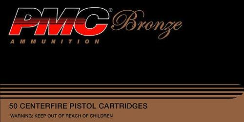 PMC Ammunition Bronze 10mm 170GR JHP 25Rds 10B-50